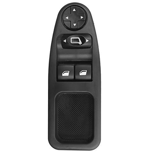 KUANGQIANWEI Botonera elevalunas 6554ZJ 12 / 13Pins Ventana eléctrico Interruptor de botón en Forma for Fiat Scudo 270 en Forma for Citroen Jumpy Despacho en Forma for Peugeot Expert Kasten 2007-2016