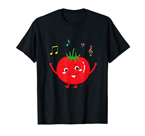 Tomate T-Shirt Gemüse Süß fruchtig...