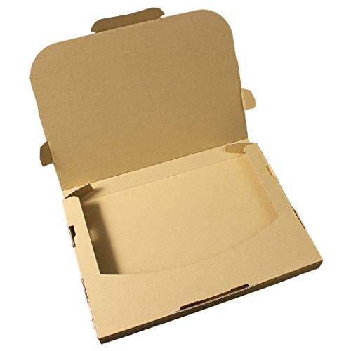 愛パックダンボール ネコポス対応段ボール ダンボール箱 10枚 日本製 無地 薄型素材 (308×220×28mm) nek01-10