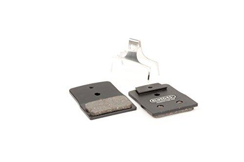 Elvedes 1 Paire Metallic Carbon AEROSTREAM Disc Brake Replacement Pads for Shimano BR-M666, M785, M985, M988, R785, RS785 Set de Plaquettes de Freins Velo/VTT/E-Bike/Route Mixte Adulte, Noir