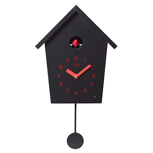 Cuco Clock Kuckucksuhr REIHENHAUS mit Pendel, Wanduhr, Moderne Kuckucksuhr, Pendeluhr