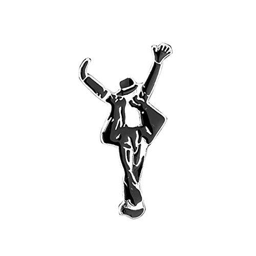 Unbekannt Michael Jackson Metall Pins Brosche This is IT - 4,5 x 2,5 cm