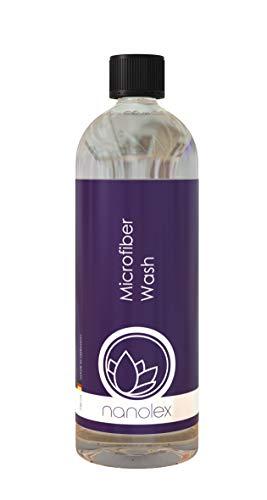 Nanolex Mikrofaser Waschmittel 750 ml, für die gründliche, schonende & rückstandslose Reinigung von Microfasertüchern