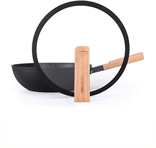 Pot HZY Cookware Poêle à frire antiadhésive sans fumée à fond plat pour cuisinière à gaz, poêle à frire (couleur : A, taille : 28 cm), taille : 28 cm, couleur : B, b, 28 cm