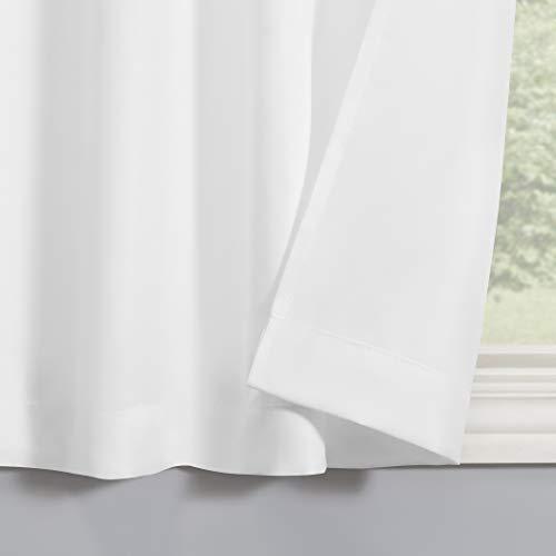 No. 918 Martine Microfiber 3-Piece Kitchen Curtain Set, 54