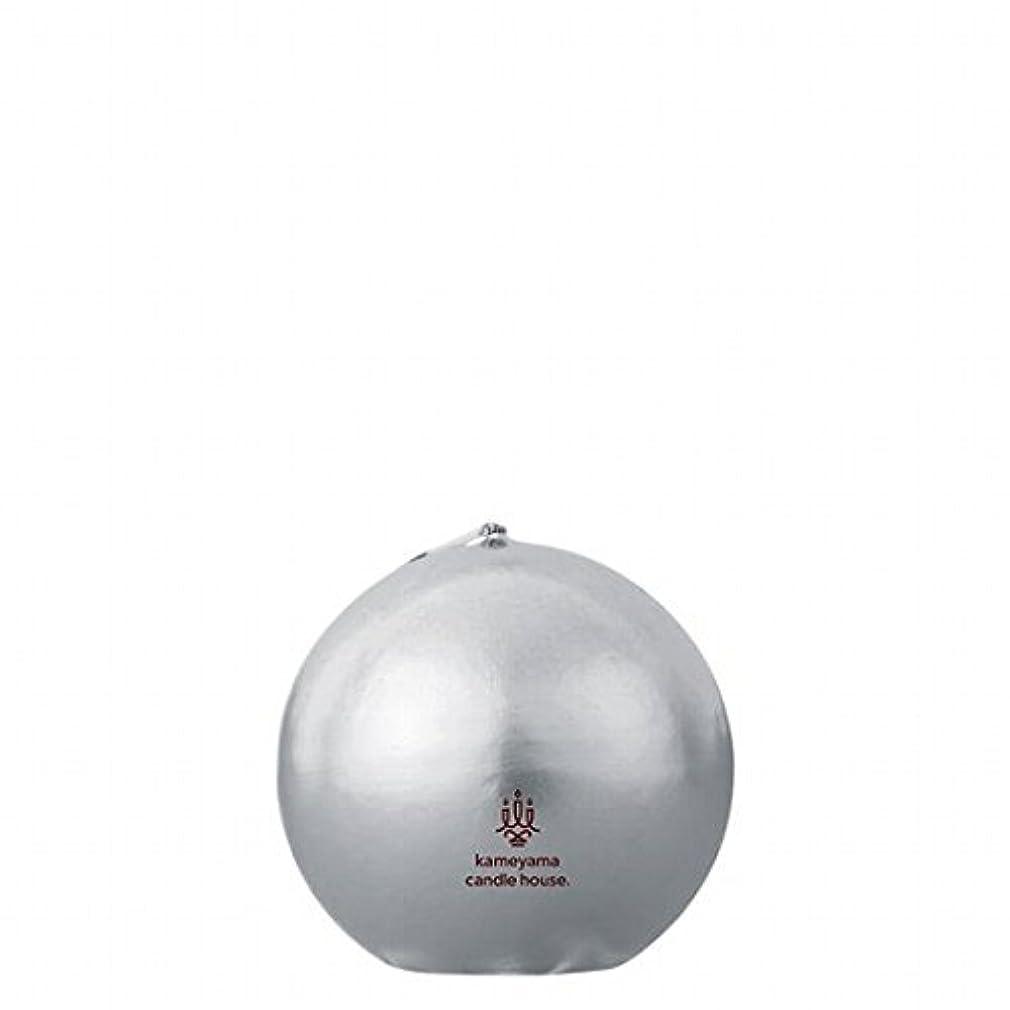 カメヤマキャンドル(kameyama candle) メタリックボール60 「 シルバー 」