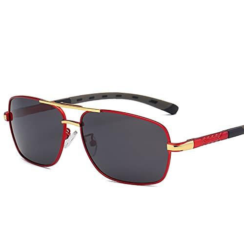 BEIAKE Gafas de Sol polarizadas Hombres Anti-UV Gafas Protección para los Ojos Sombreado Gafas de Resina para Ciclismo, Viajes, Playa, Unidad,3