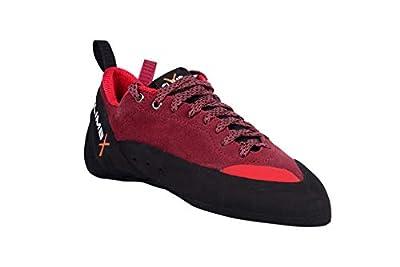 CLIMBX Crush Lace -Red- Rock Climbing/Bouldering Shoe 2019