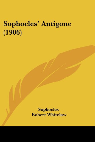 Download Sophocles' Antigone (1906) 1436779553