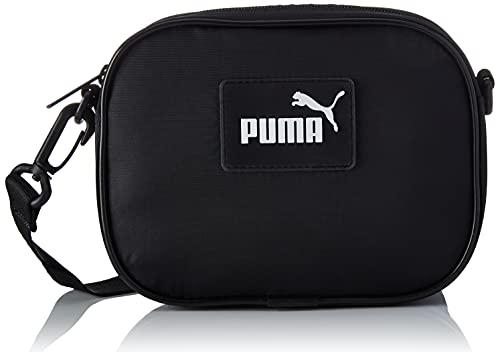 PUMA Damen Core Pop Crossbody Bag Schultertasche, Schwarz, OSFA