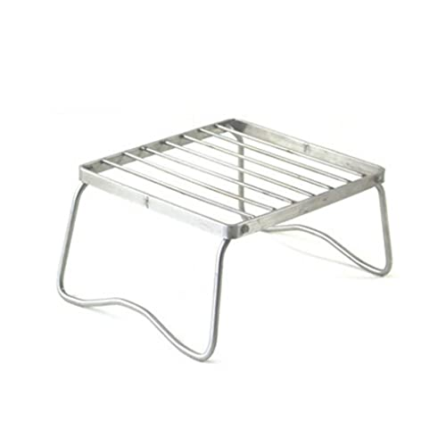 KRLZA sklzj Home Party BBQ Grill Outdoor Stainless Steel Portable Folding Barbecue Lightweight Kitchen Tool