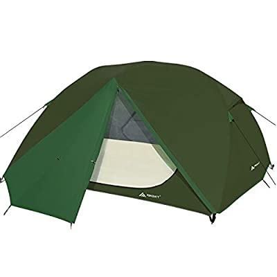 Forceatt Camping Tent 3 Person Portable Backpack Tent, Waterproof and Windproof Easy to Install, Suitable for Travel, Camping, Hiking and Other Outdoor Sports