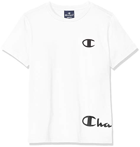 Champion Jungen Seasonal Logo T-Shirt, Ww001, X-Small