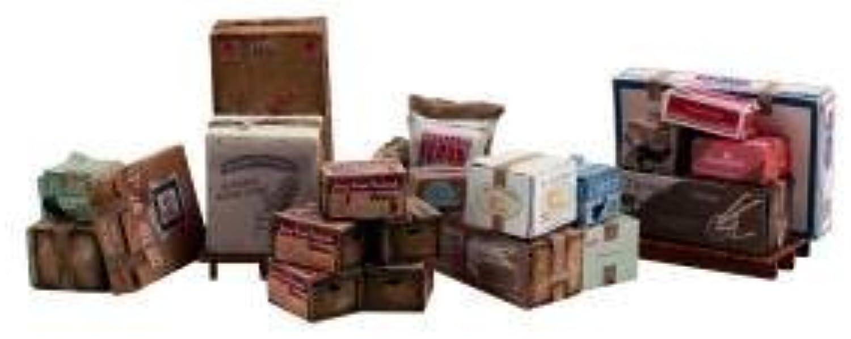 Todo en alta calidad y bajo precio. Scenic Accents Miscellaneous Packaged Freight (Boxes, Crates, Sacks Total Total Total 6 diff.) O Woodland Scenics by Woodland Scenics  echa un vistazo a los más baratos