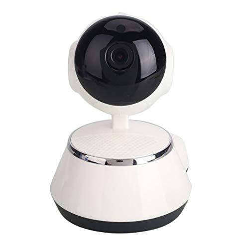 JZXSEE Draadloze Camera 300g Thuis Wifi Netwerk Smart Surveillance Camera IP Eenvoudige Installatie Smart Home Monitoring Geschikt voor Thuis, Kantoor, Draadloze Surveillance, Etc.