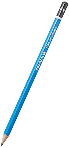 Staedtler Bleistift 100-4B, blau