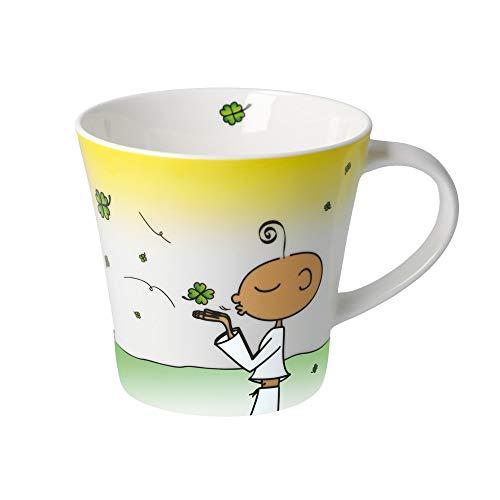 DER KLEINE YOGI: Kaffee-/Teetasse - Glückstasse - NEU
