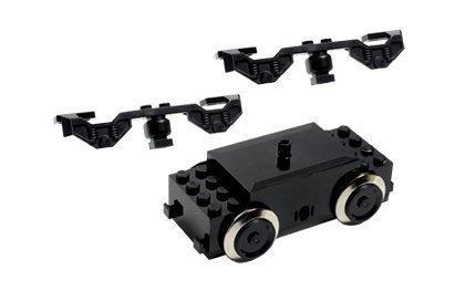 LEGO - 10153 9V Eisenbahn-Motor, 3 Teile