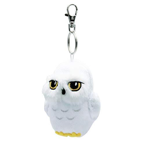ABYstyle Harry Potter Hedwig Peluche Portachiavi, Bianco, 9 cm
