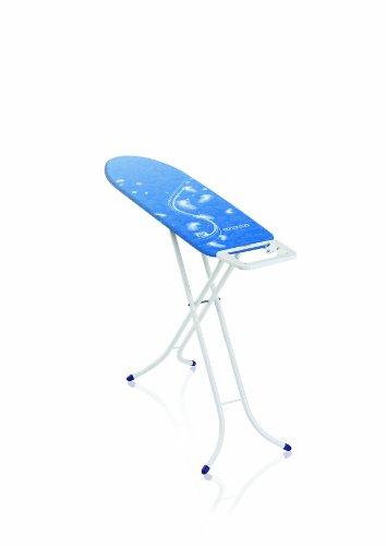 Leifheit Tabla de planchar plegable Air Board Compact S para planchas de vapor, mesa de planchar ultraligera, tabla de planchado en menos tiempo
