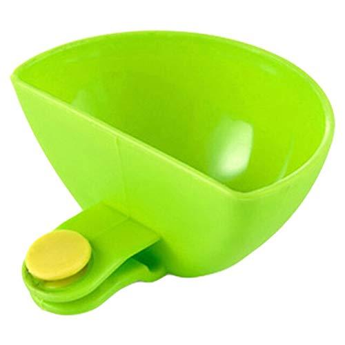 RAP 1Pc Dip Saucers Verschillende Salade Saus Ketchup Jam Dip Clip Cup Bowl voor Tomaat Zout Azijn Suiker Smaak Splice Keuken Tool Groen
