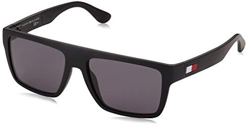 Tommy Hilfiger TH 1605/S gafas de sol, MTT NEGRO, 54 para Hombre