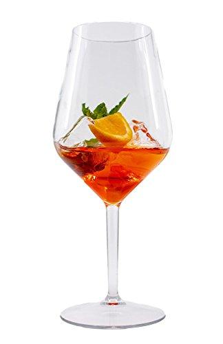 Stylgs hochwertige Tritan Plastik Weingläser | Unzerbrechliche Mehrweg Rotwein Gläser | Wiederverwendbar und Spülmaschinenfest | Plastikgläser im 2er Set