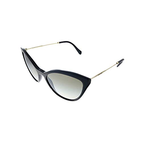 Occhiali da sole Miu Miu SMU 03U BLACK/GREY SHADED donna