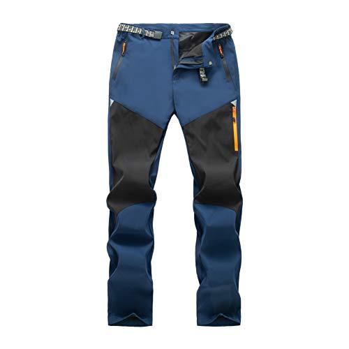 LY4U Pantalones de Senderismo para Hombre,...