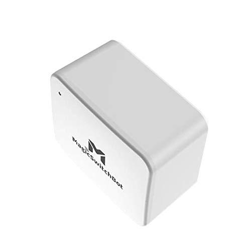 Peaches Stores Smart Switch, Bluetooth 5.0 Smart Switch Knop Pulsador Voor Garage, Muur Light Shakelaar App Timer-Steuerung, remoto y voz, funciona con Alexa, Google Home
