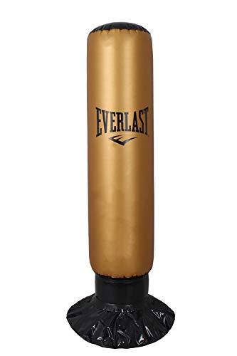 Everlast ev2628 Boxsack Aufblasbar, Black Gold, L