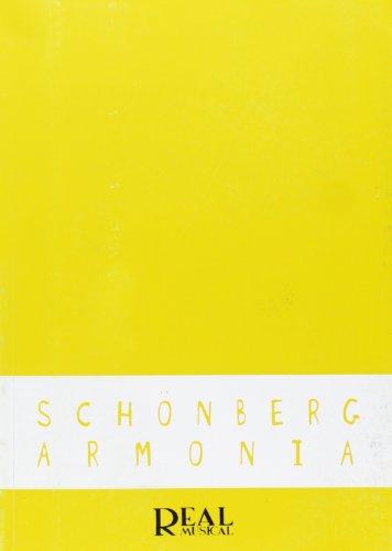 Arnold Schönberg: Armonía (RM Pedag.Libros Tècnicos
