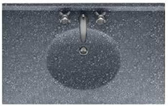 Swan VC02255.012 Ellipse Solid Surface Single-Bowl Vanity Top, 55
