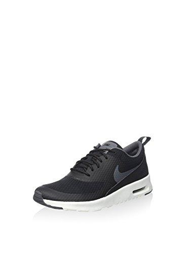Nike Damen W Air Max Thea Txt Fitnessschuhe, schwarz/dunkelgrau/weiß, 38 EU