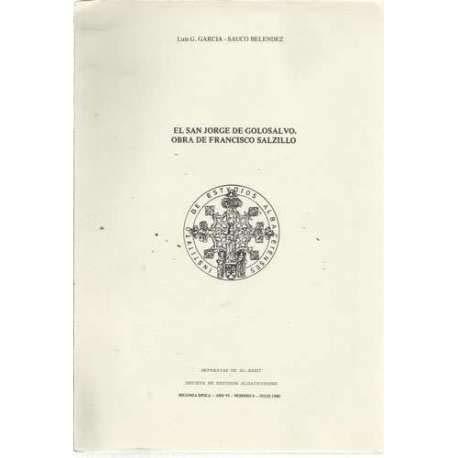 El San Jorge de Golosalvo, Obra de Francisco Salzillo