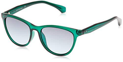Calvin Klein 205W39nyc Ckj811S 418 52 Gafas de Sol, Crystal Teal, Mujer