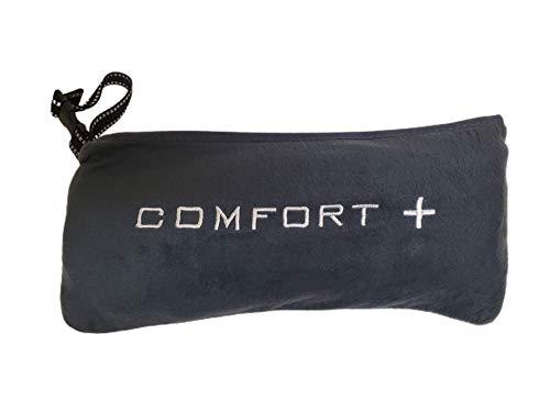 Comfort Plus 3-in-1 Premium Travel Blanket (Charcoal)