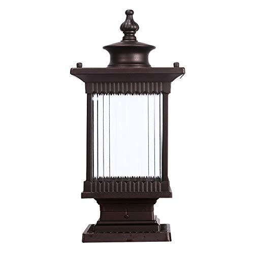 Wandleuchte Außen Rasen-Lampe, Wandleuchte, Spalt Lampe, Gartenlampe Gartenlampe Garten-Licht-Rasen-Lampe Straßenlampentyp im Freien Landschaftslampe E27 (Color : B)