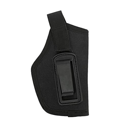 VOSAREA Fondina Pistola Destra Sinistra Universale (Nera)