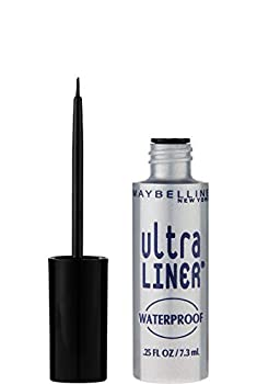 Maybelline New York Ultra-Liner Liquid Liner Waterproof Black 135L-01  0.25 fl oz  7.3 ml