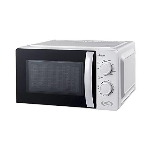 Forno a microonde bianco con grill, da 20 litri e 700 W Bianco
