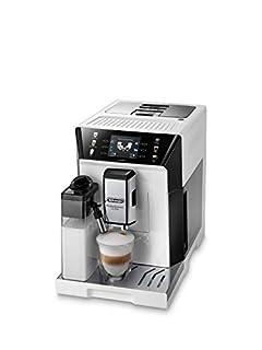 De'Longhi PrimaDonna Class ECAM 550.65.W Kaffeevollautomat mit LatteCrema Milchsystem, Cappuccino und Espresso auf Knopfdruck, 3,5 Zoll TFT Farbdisplay und App-Steuerung, weiß (B08FWRQ6Z4) | Amazon price tracker / tracking, Amazon price history charts, Amazon price watches, Amazon price drop alerts