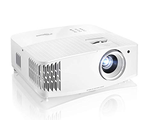 Optoma - UHD30 4K UHD Projector with HDR10, HLG & Enhanced Gaming Mode - White