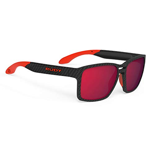 Rudy Project Spinair 57 Sonnenbrille carbonium - rp Optics multilaser red 2021 Fahrradbrille