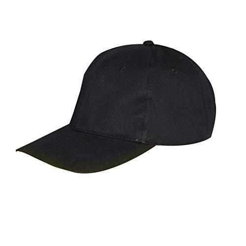 teng hong hui Niño Niña LED Luminoso del Visera del Sombrero Sombrero de Visera Calle Calle Resplandor del Partido del Club de béisbol de Baile se Divierte el Casquillo Ajustable