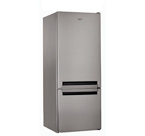 Whirlpool BLF 5121Ox Freistehender Kühlschrank mit Gefrierfach, 271l A+, Kühlschränke - Gefrierschränke (271 l, SN-ST, 38 dB, 4 kg / 24h, A+, Edelstahl)