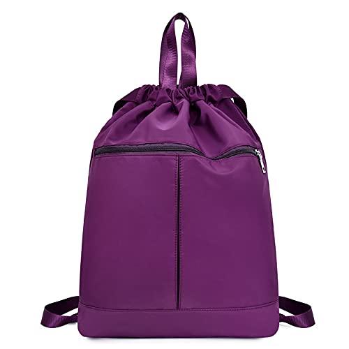 QIANJINGCQ Nueva mochila ligera con cordón de alta capacidad, mochila con cordón, bolsillo con cordón, mochila impermeable y resistente al desgaste, gran oferta