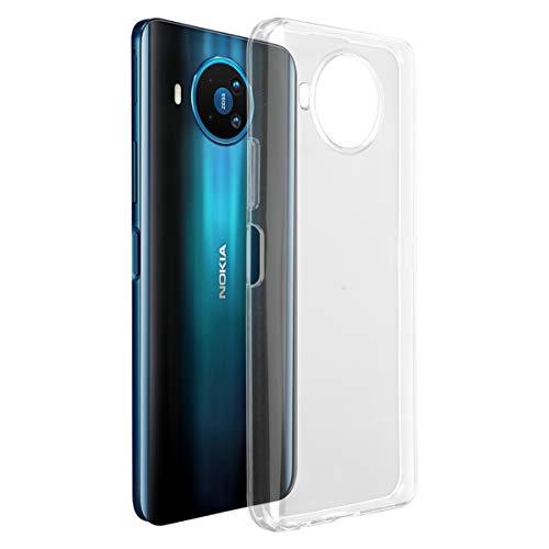 ROVLAK Hülle für Nokia 8.3 5G Hülle Silikon Superdünne Leichte Handyhuelle Kristallklare Tasche Stoßfeste Kratzfeste Transparente Schutzhuelle TPU Handytasche für Nokia 8.3 5G