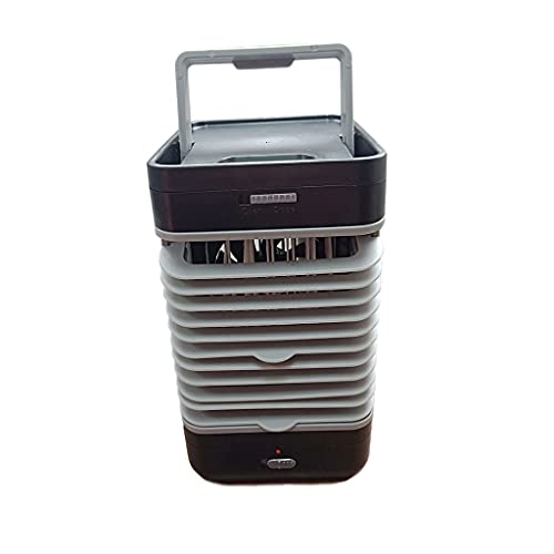 Stands Portable Air Cooler,Personal Air Cooler,Portable Oscillating Air Conditioner Desk Fan Mini Evaporative Cooler,Large Water Tank for Office/Bedroom/Dorm