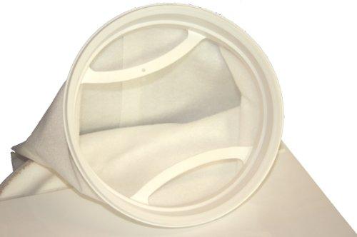 Tomodachi Filterbeutel aus Polypropylen Nadelfilz 25µm zur Feinstfiltration am Koiteich, filtert sogar grünes Wasser